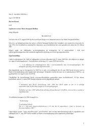 Den 21. december 2009 blev i sag nr. 45/2009-R ... - Revisornævnet