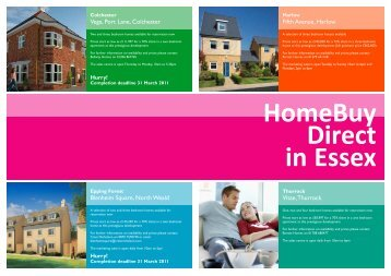 HomeBuy Direct in Essex - Moat
