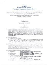 statut-30001.pdf - Fakulta podnikatelská - Vysoké učení technické v ...