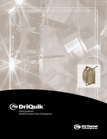 DriQuick Catalog - Finishing Consultants