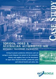 toyota, ford & australian automotive air - Sustainability Victoria