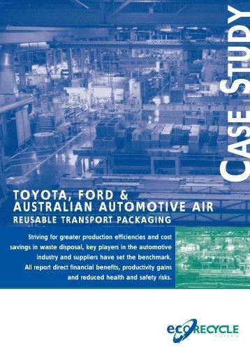 toyota, ford & australian automotive air - Sustainability Victoria