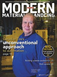 December - Modern Materials Handling