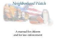 Neighborhood Watch manual - USAonWatch.org