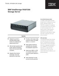 IBM TotalStorage FAStT200 Storage Server - Used - Spectra