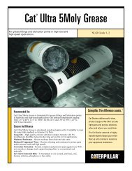 Cat ® Ultra 5Moly Grease