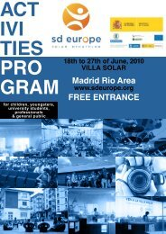 Madrid Rio Area FREE ENTRANCE