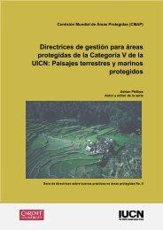 Directrices de gestión para áreas protegidas de la Categoría V de la ...