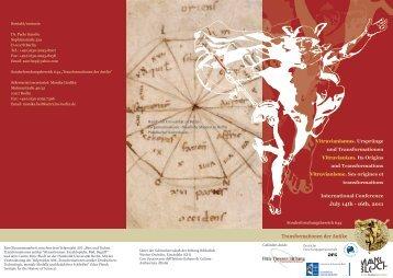 Transformationen der Antike July 14th - 16th, 2011