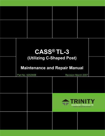 MAINTENANCE AND REPAIR MANUAL