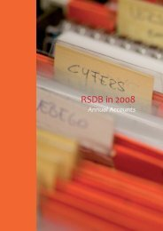 Only the RSDB annual account for 2008 - Roto Smeets Group