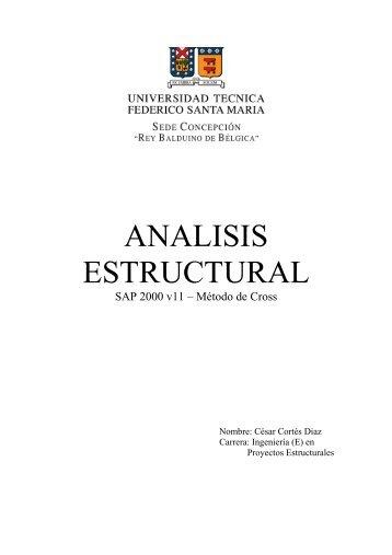 ANALISIS ESTRUCTURAL sap2000