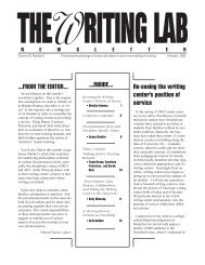 29.6 - The Writing Lab Newsletter
