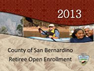 Learn More - San Bernardino County