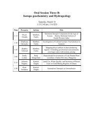 Abstracts Time Presenter Advisor Title 1:15 Piyali Chanda Matthew ...