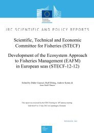 Scientific, Technical and Economic Committee for Fisheries ... - Europa