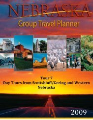 Tour 7: Day Tours from Scottsbluff/Gering - Industry
