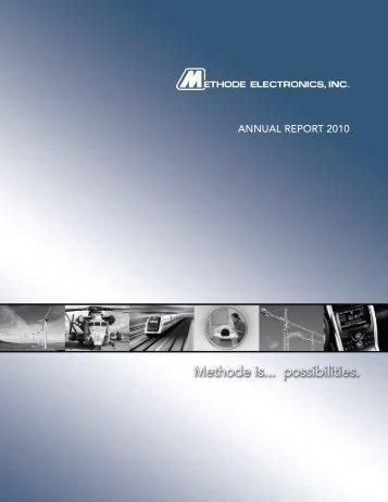 ANNUAL REPORT 2010 - PrecisionIR