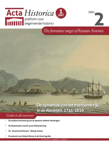 Leiden University Institute for History - Acta Historica