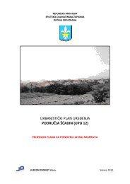 urbanistički plan uređenja područja šćadin (upu ... - Općina Podstrana