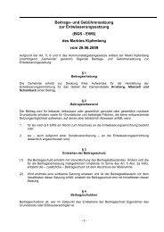 BGS-EWS Abwasser Arnsberg - Kipfenberg in Bayerns Mitte