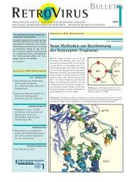 Neue Methoden zur Bestimmung des Korezeptor-Tropismus - GfV