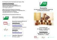 Kursreihe - Demenz-Servicezentrum Münsterland