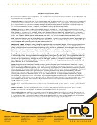 """Standard Terms and Condition of Sale M-B Companies, Inc. (""""Seller ..."""
