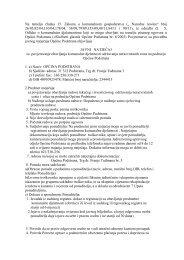 Javni natječaj za povjeravanje obavljanja ... - Općina Podstrana