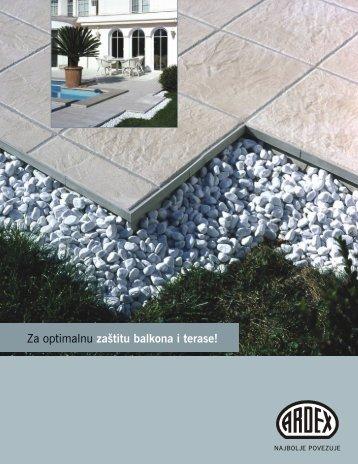 Za optimalnu zaštitu balkona i terase!