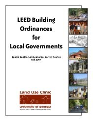 LEED Building Ordinances for Local Governments - River Basin ...
