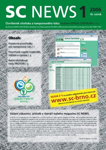 SC 2006 / 1 - SERVIS CENTRUM