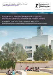 Application of Strategic Management Accounting Techniques ...