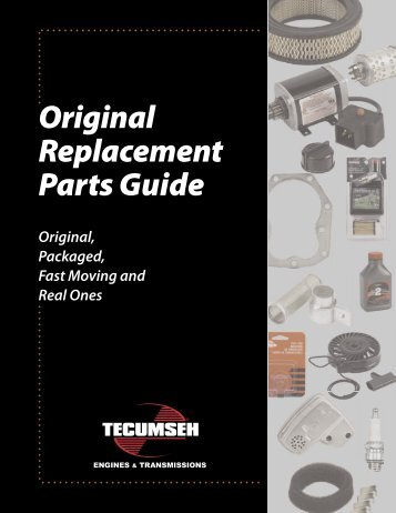 Tecumseh Replacement Parts - Small Engine Suppliers