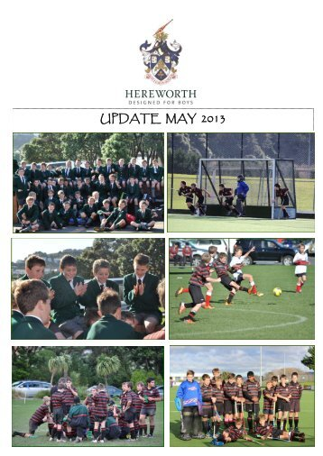 UPDATE MAY 2013 - Hereworth School