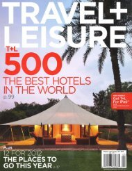Best Hotels in the World - Enchantment Group