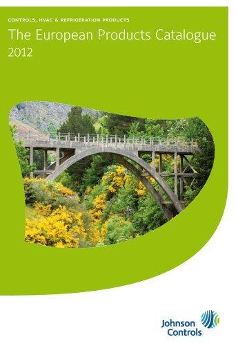 [PDF] The European Products Catalogue 2012 - Johnson Controls