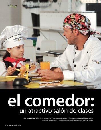 un atractivo salón de clases - Catering.com.co