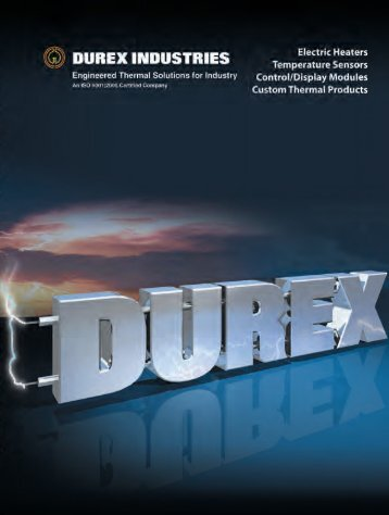 Download Full Product Catalog - Durex Industries