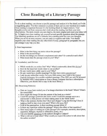 reading assignment All students entering grades 6-12 for the 2018-2019 school-year are required to  complete a summer reading assignment all students who enroll in rockdale.