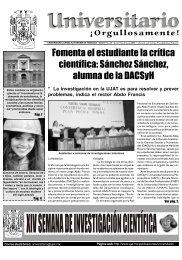 No. 36 · Lunes 09 de junio 2003 - Publicaciones - Universidad ...