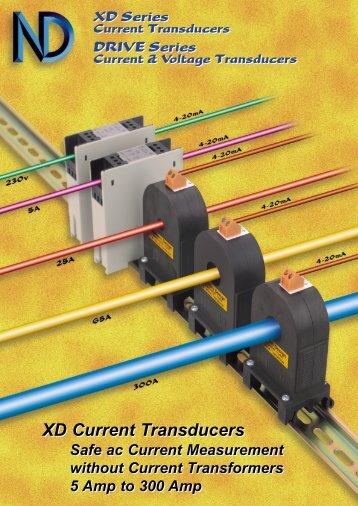 XD Current Transducers XD Current Transducers