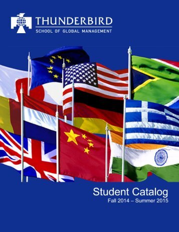 PDF - Thunderbird Students - Thunderbird School of Global ...
