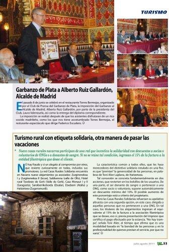 Aumento de turistas internacionales en España, El ... - TAT Revista