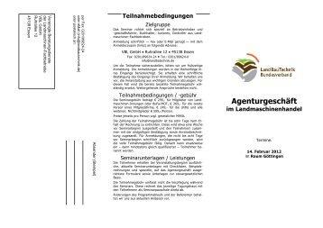 Agenturgeschäft - Landmaschinenverband-nb.de