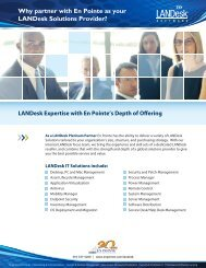 EPXLD001_Why LANDesk(20th) - En Pointe Technologies
