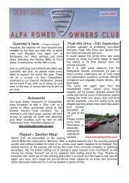 June 2009 - Alfa Romeo Owners Club