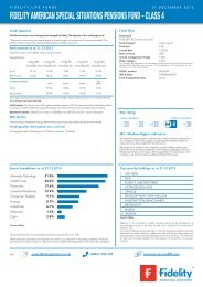 fidelity american special situations pensions fund - class 4