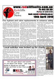 2013 04 16 Edition 390.pmd - Redcliffe City News