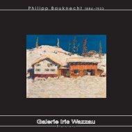 Philipp Bauknecht 18 8 4 –19 3 3 - Galerie Iris Wazzau